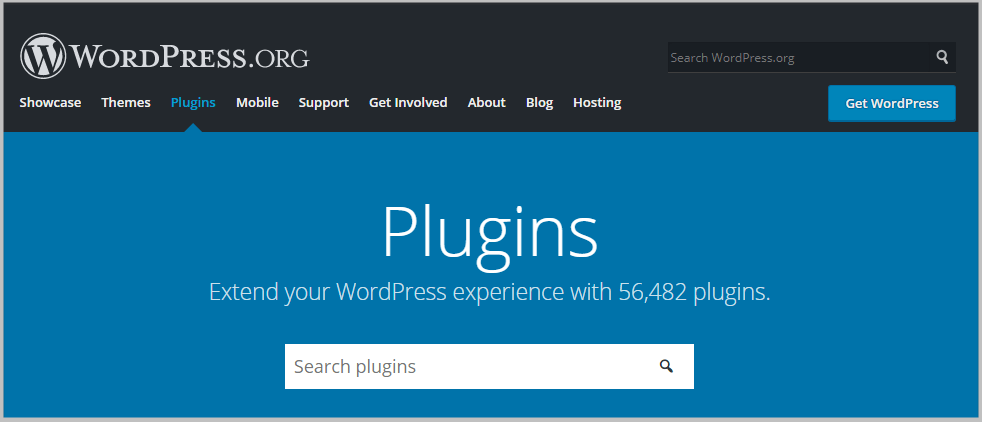 plugin repository on wordpress.org