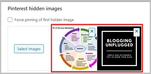 hide multiple pins using plugins in WordPress