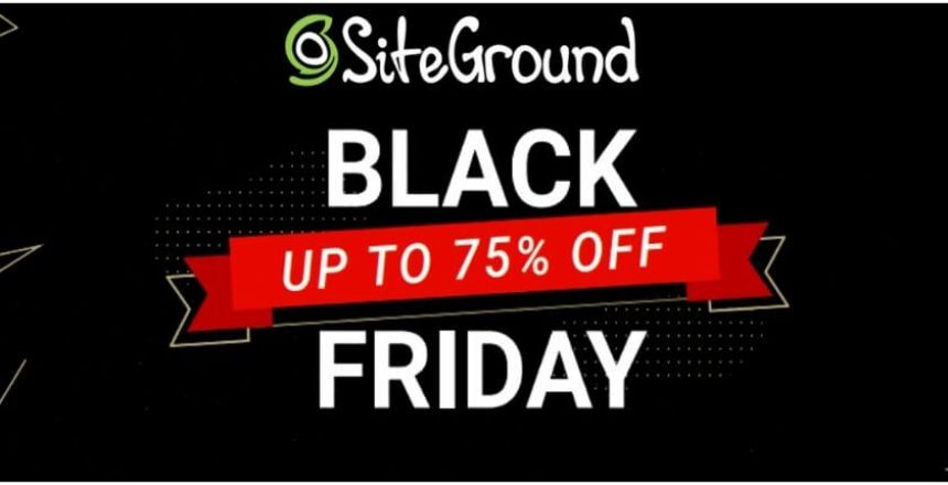 siteground black friday deal