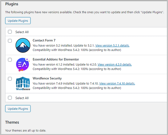 update-plugins-in-wordpress