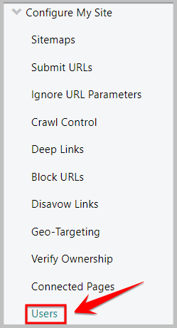add users in bing webmaster