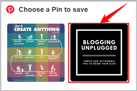 how to check hidden pins in blog post