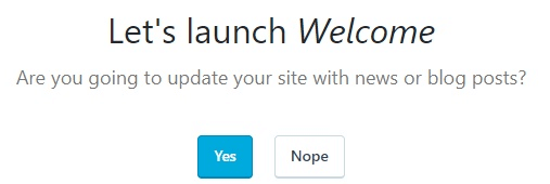 Launch your WordPress blog